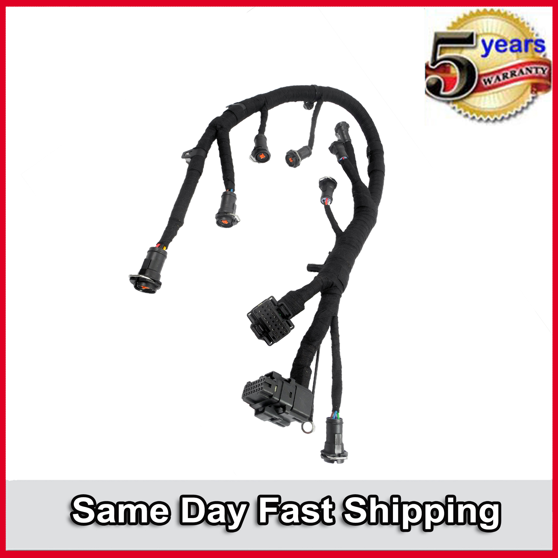 2003-2007 For Ford 6.0L Powerstroke Diesel Fuel Injector Jumper Wiring Harness