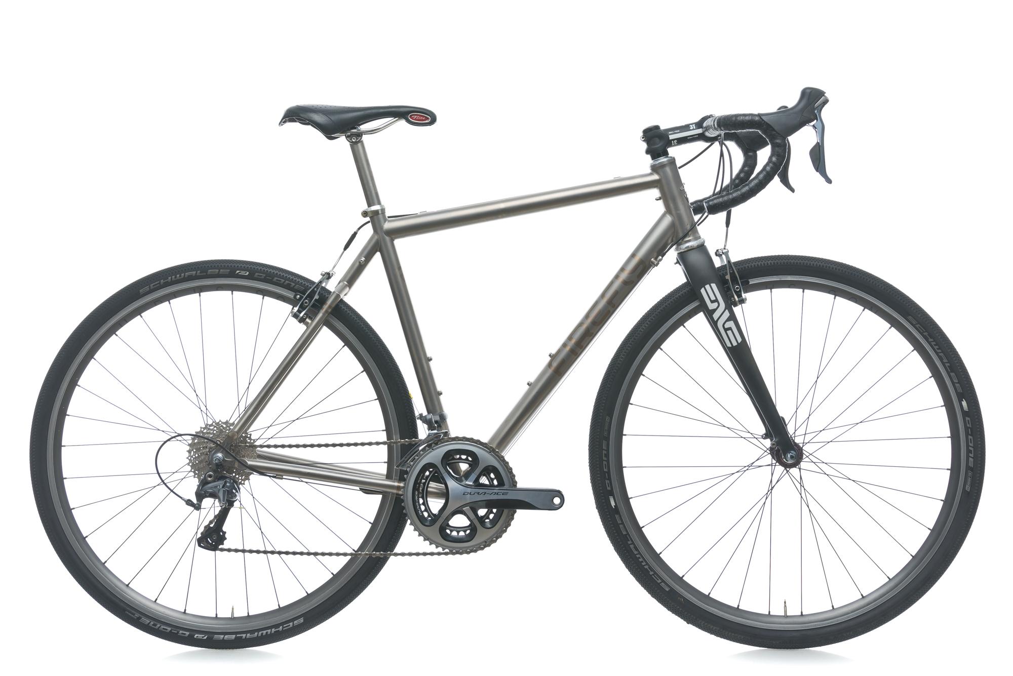 2011 Firefly Cyclocross Bike 53cm Titanium Ultegra Dura-Ace ENVE ...