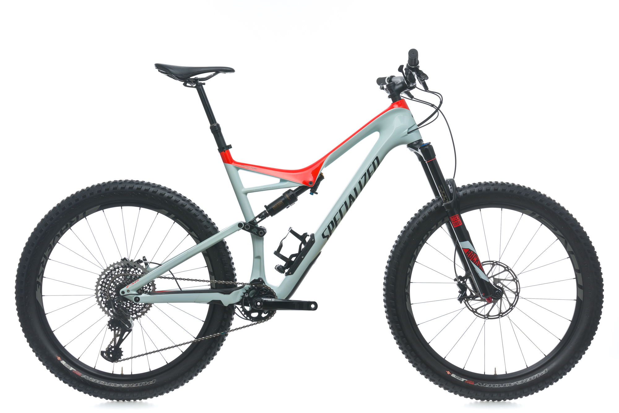 2017 Specialized Stumpjumper FSR Pro Carbon 6Fattie Mountain Bike XL ...