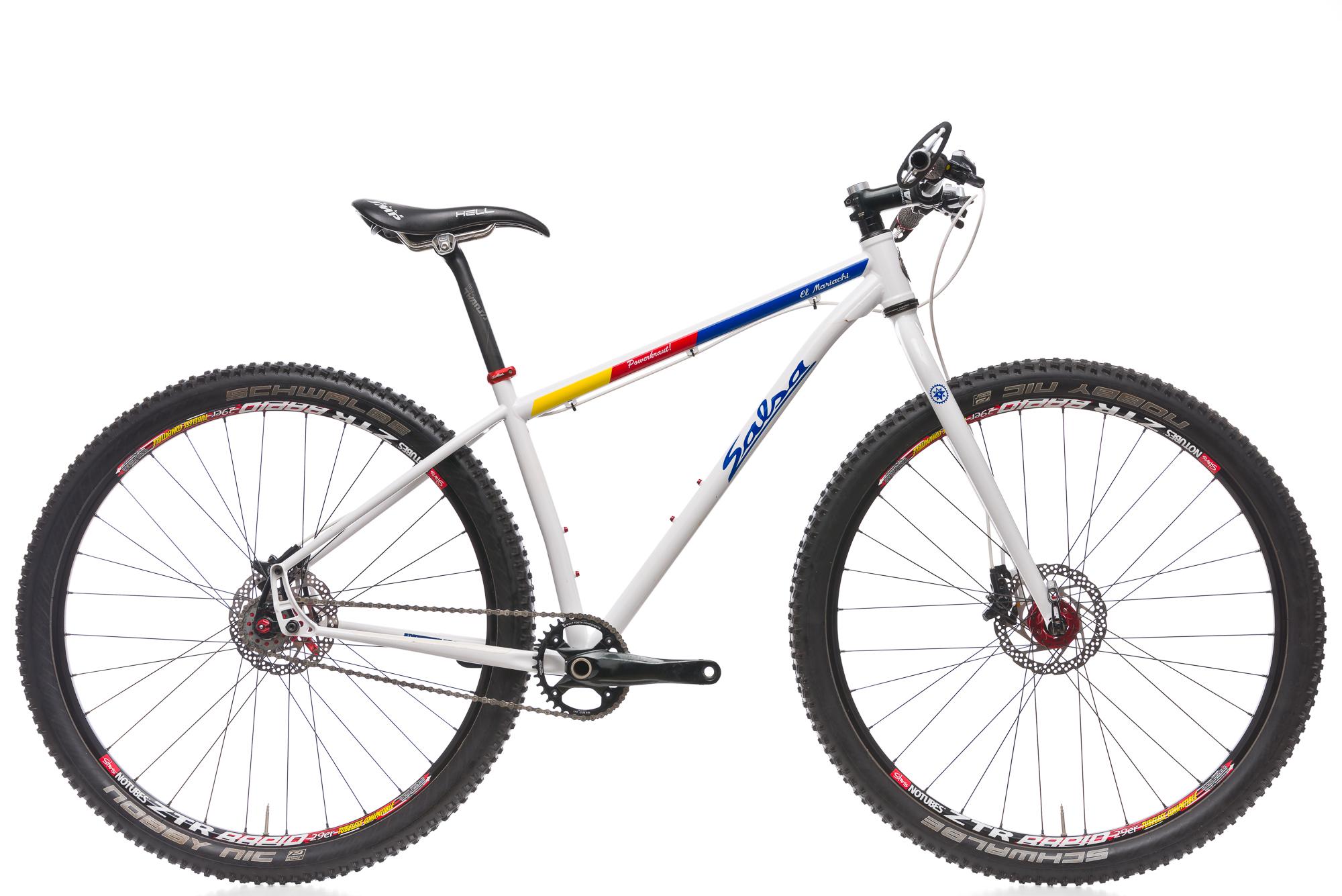 2014 Salsa Mariachi Una Velocidad Mountain Bike El 17 In Approx