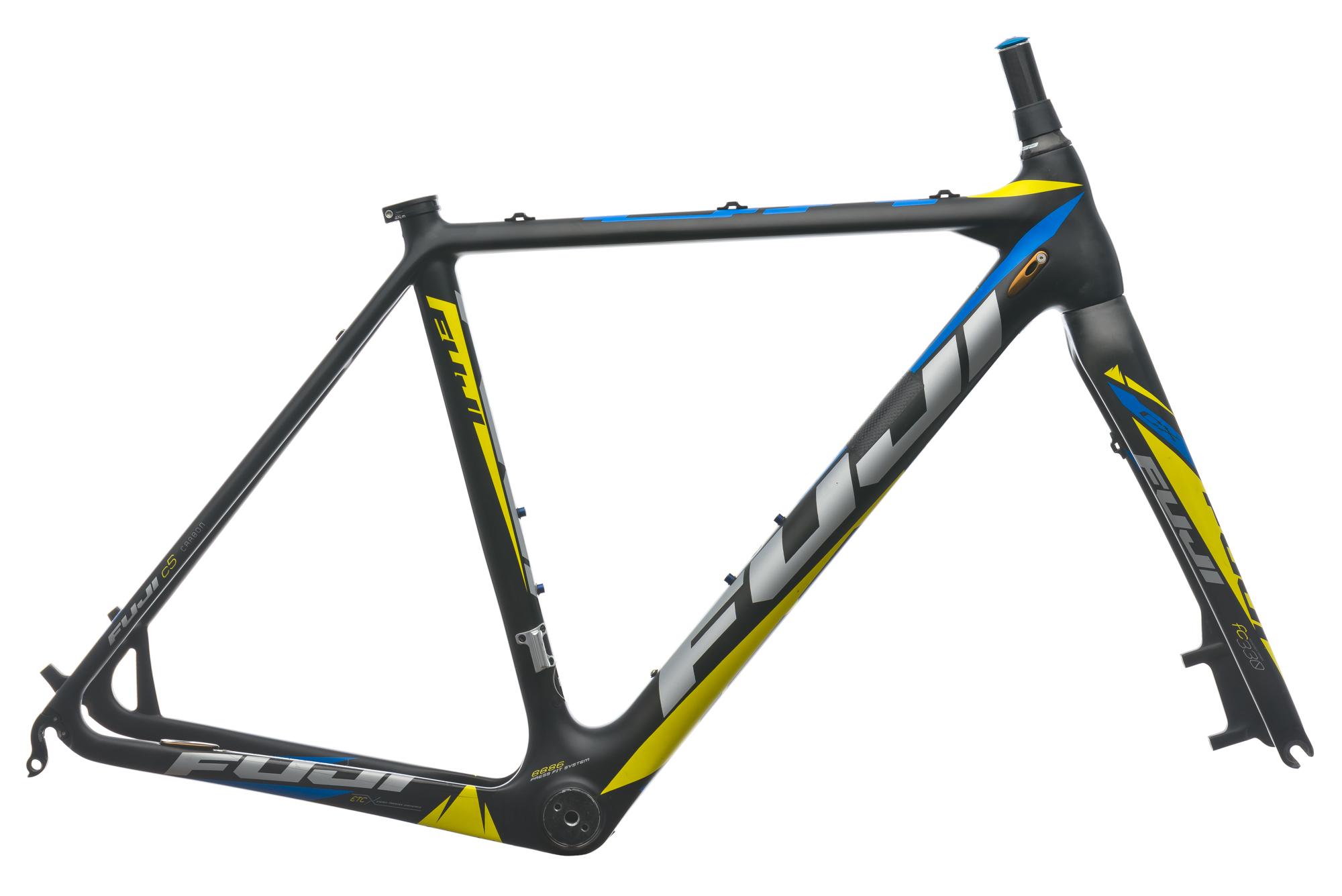 2013 Fuji Altamira CX 1.3 Cyclocross Bike Frame 52cm S/M Carbon Disc ...