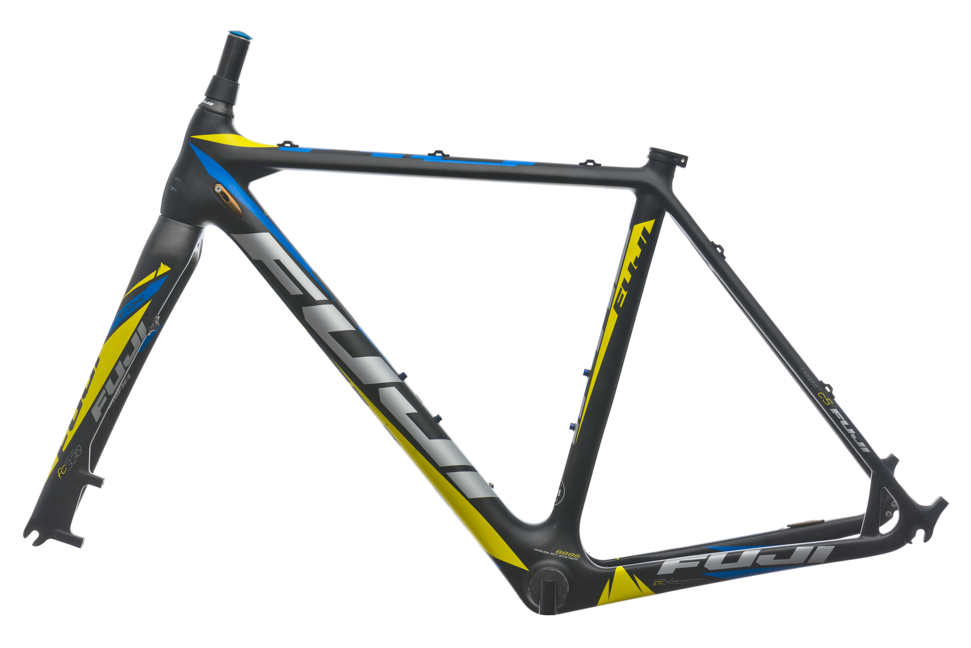 2013 Fuji Altamira CX 1.3 Cyclocross Bike Frame 52cm S/M Carbon Disc ...