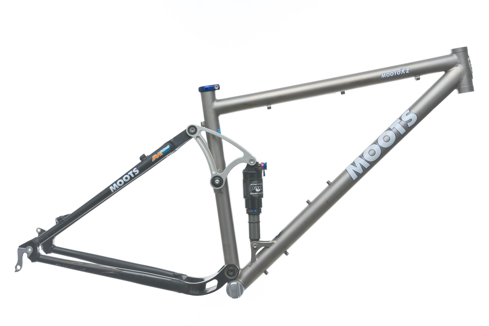 2009 Moots Mooto XZ Mountain Bike Frame 18in Medium 29\