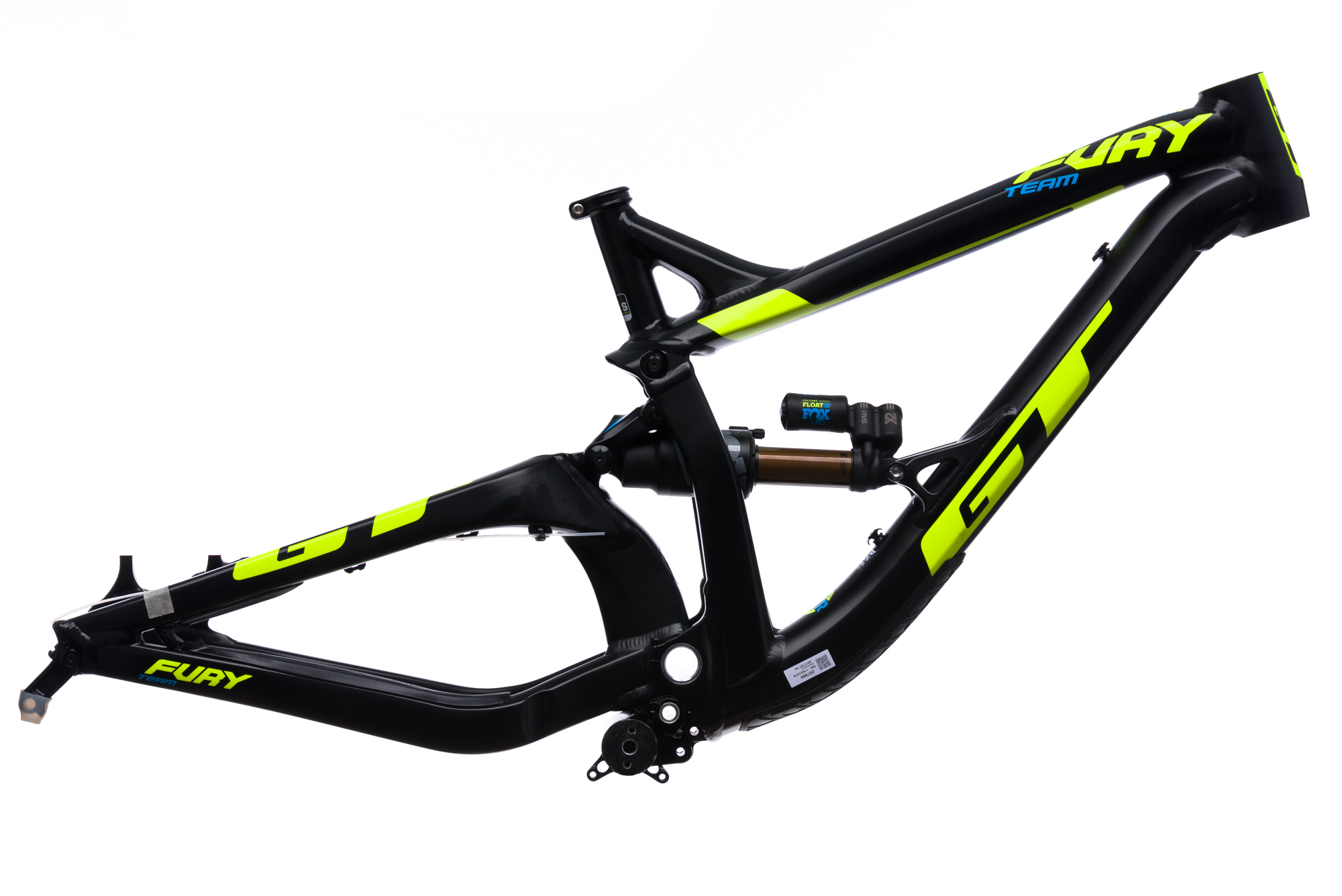 2017 GT Fury Team Downhill Mountain Bike Frame SMALL 27.5\