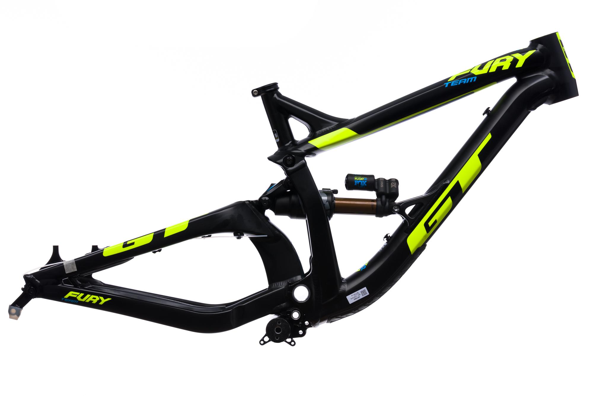 2017 GT Fury Team Downhill Mountain Bike Frame SMALL 27.5\