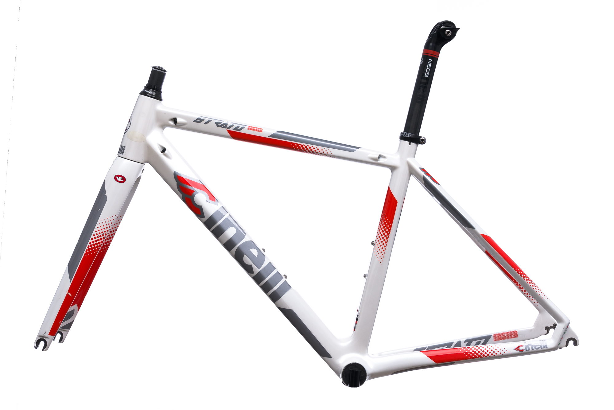 2016 Cinelli Strato Faster Road Bike Frame Set 46cm XS Carbon | eBay
