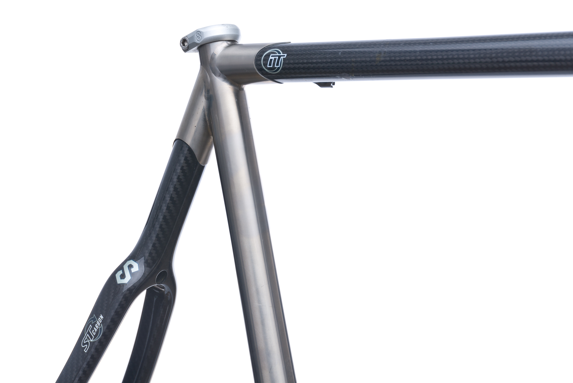 Serotta Custom Ottrott Road Bike Frame Set 58cm Large Carbon ...