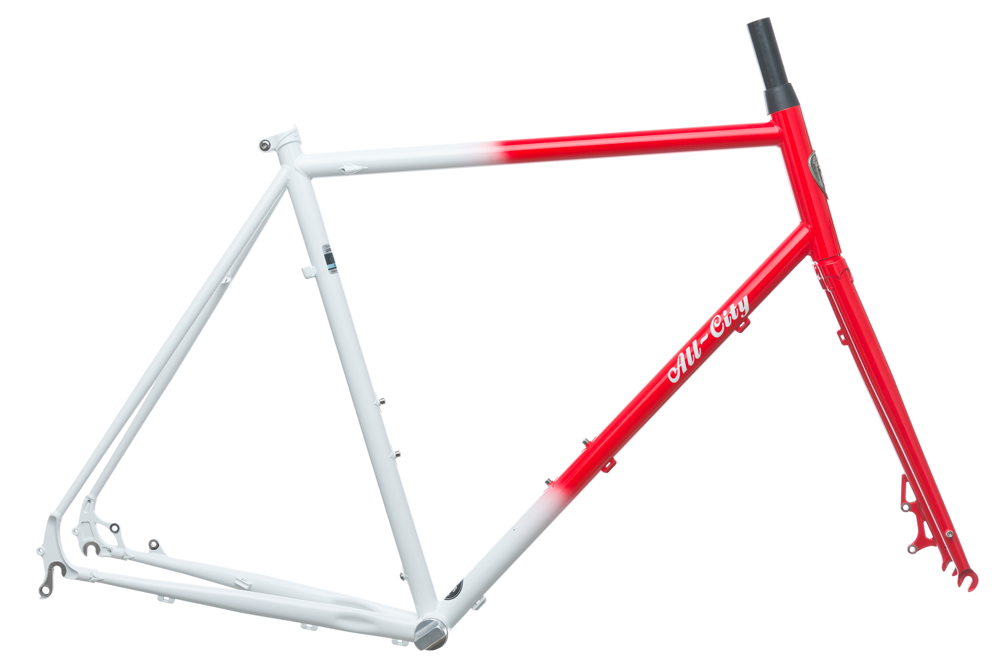 2017 All-City Macho Man Disc Cyclocross Bike Frame Set 58cm Large ...