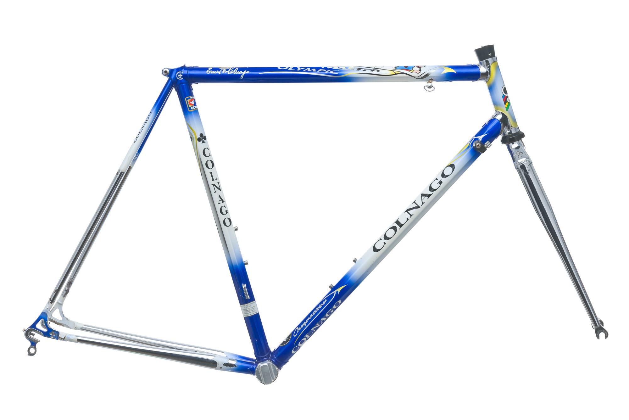 Vintage Colnago Master Olympic Competition Road Bike Frame Set 55cm ...
