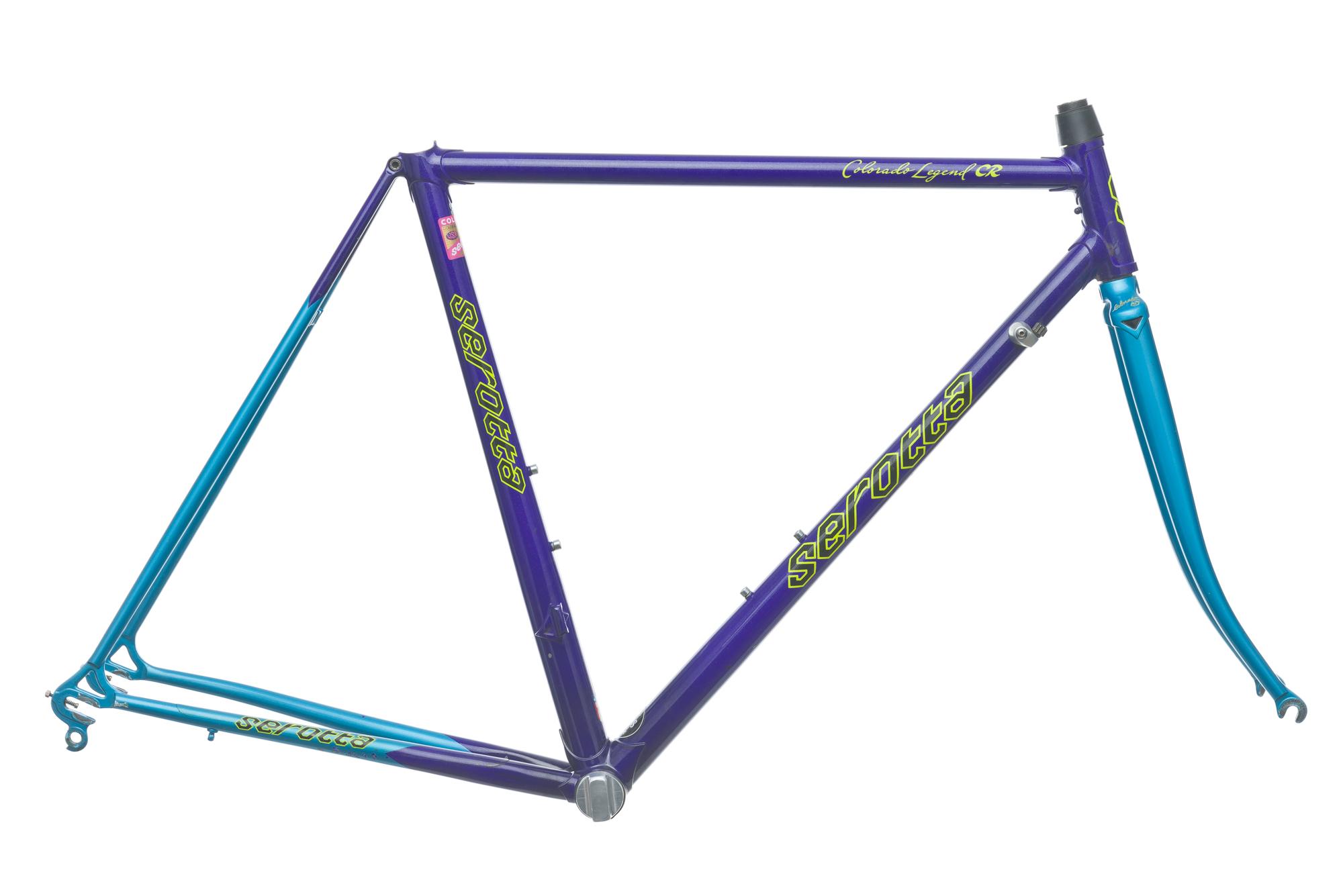 Vintage Serotta Colorado Legend CR Road Bike Frame Set 52cm Medium ...