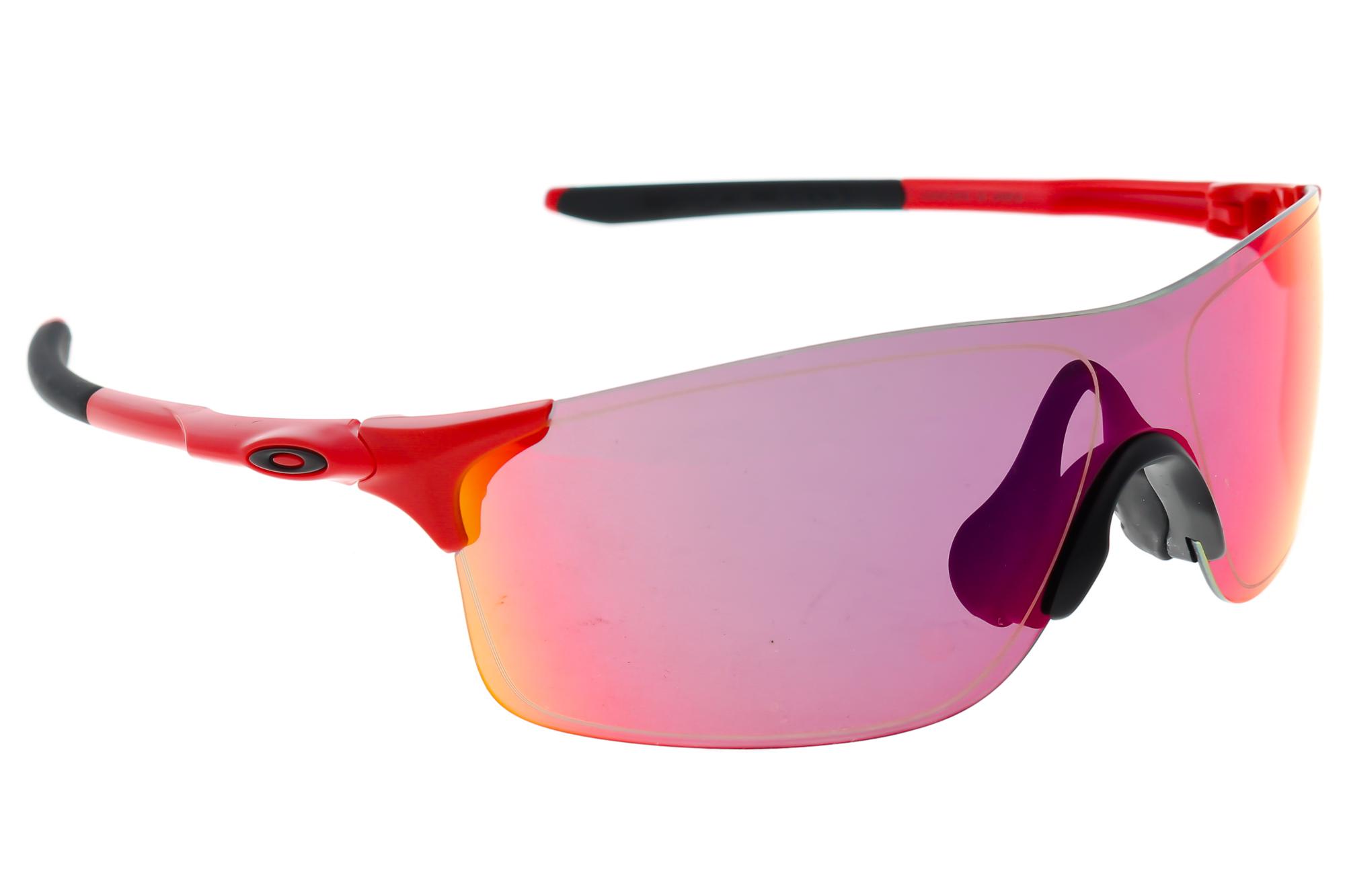 e9ffafd507 Oakley EV Zero Sunglasses Red Black Frame Red Prizm Lenses