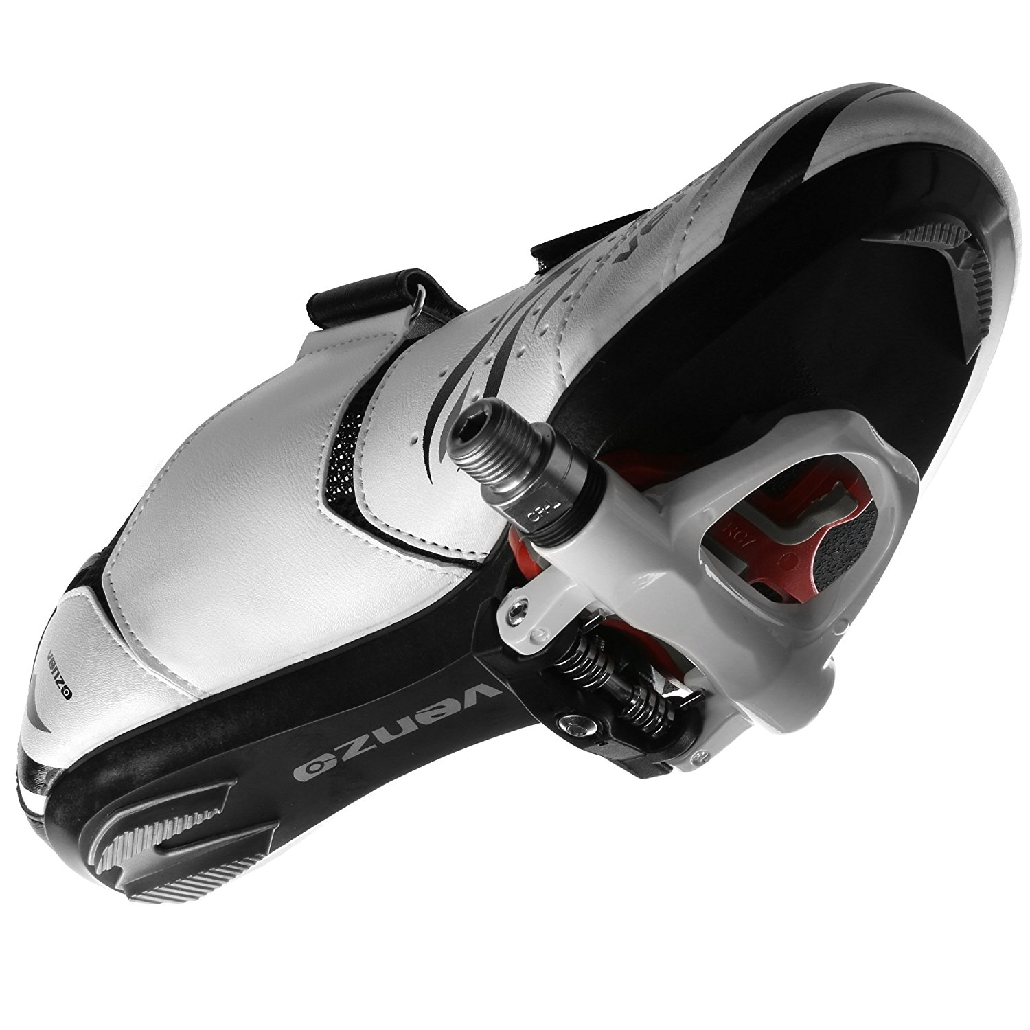 5043776f9c4 Venzo Road Bike For Shimano SPD SL Look Cycling Bicycle Shoes   Sealed  Pedals 40