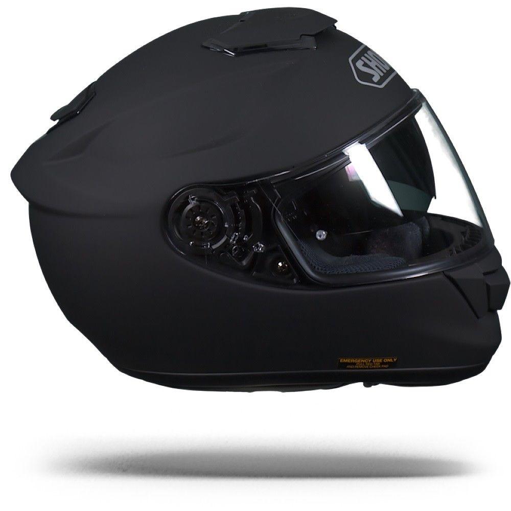 shoei gt air matte black matt black motorcycle helmet. Black Bedroom Furniture Sets. Home Design Ideas
