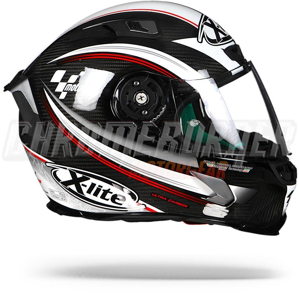 x lite x 803 ultra carbon motogp 016 xlite x 803 motorcycle helmet new ebay. Black Bedroom Furniture Sets. Home Design Ideas