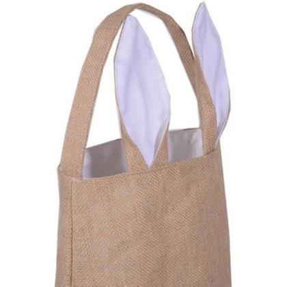 Cute Bunny Ears Easter Tote Bag - 2 Pack
