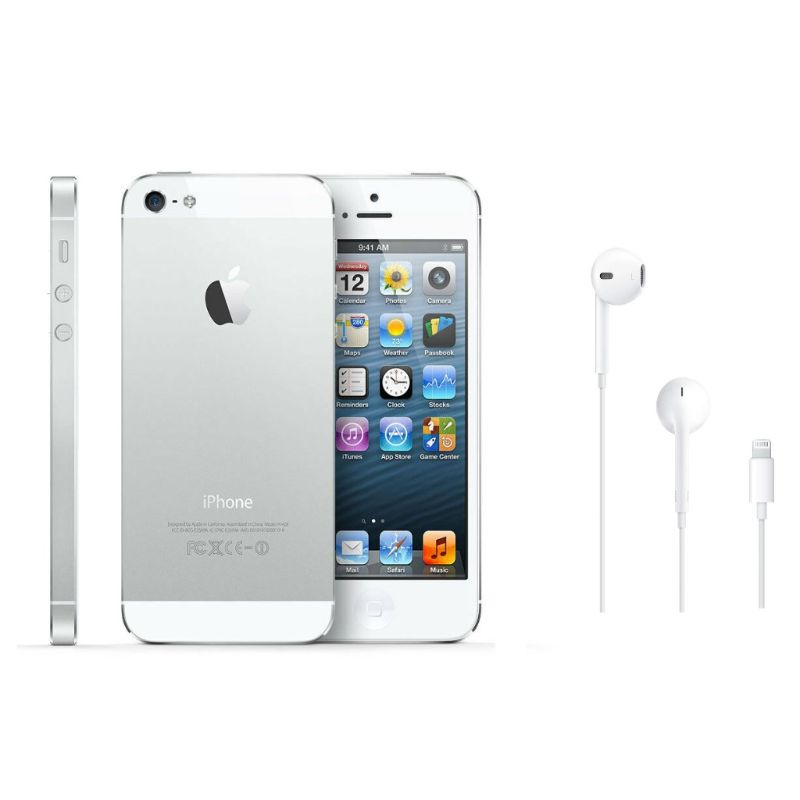 Apple iPhone 5 16GB GSM Unlocked with Apple EarPods and Lightning Connector