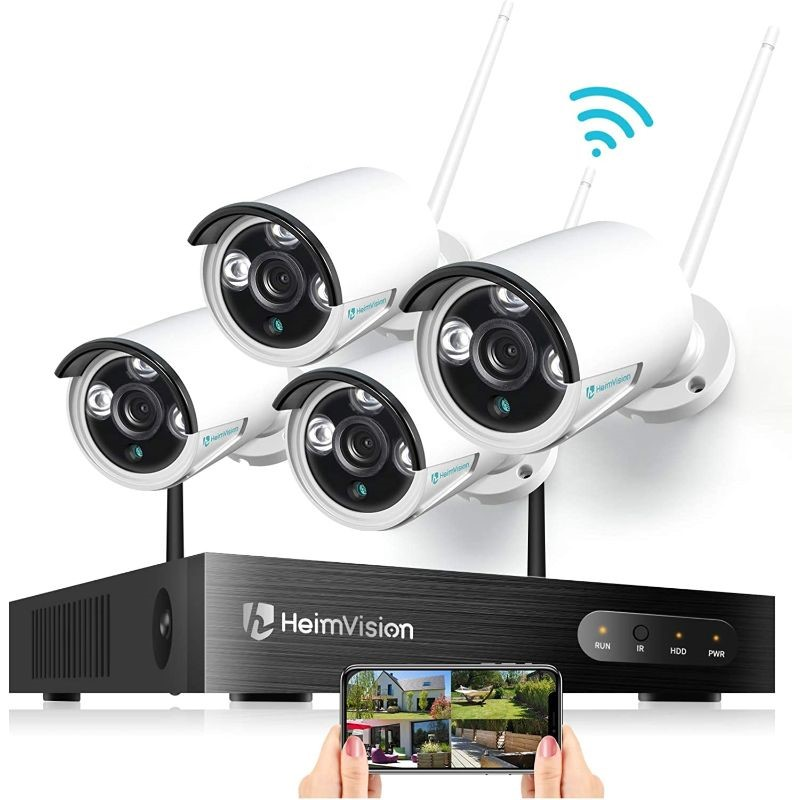 Image of HeimVision 1080P Wireless Security Camera System - 8 Channel