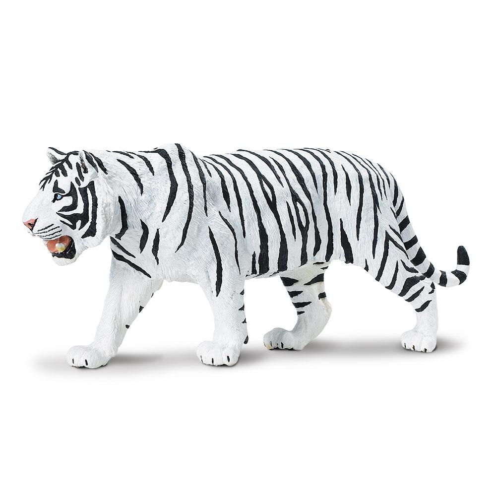 Wildlife Wonders White Siberian Tiger  Safari Ltd Animal Educational Toy Figure