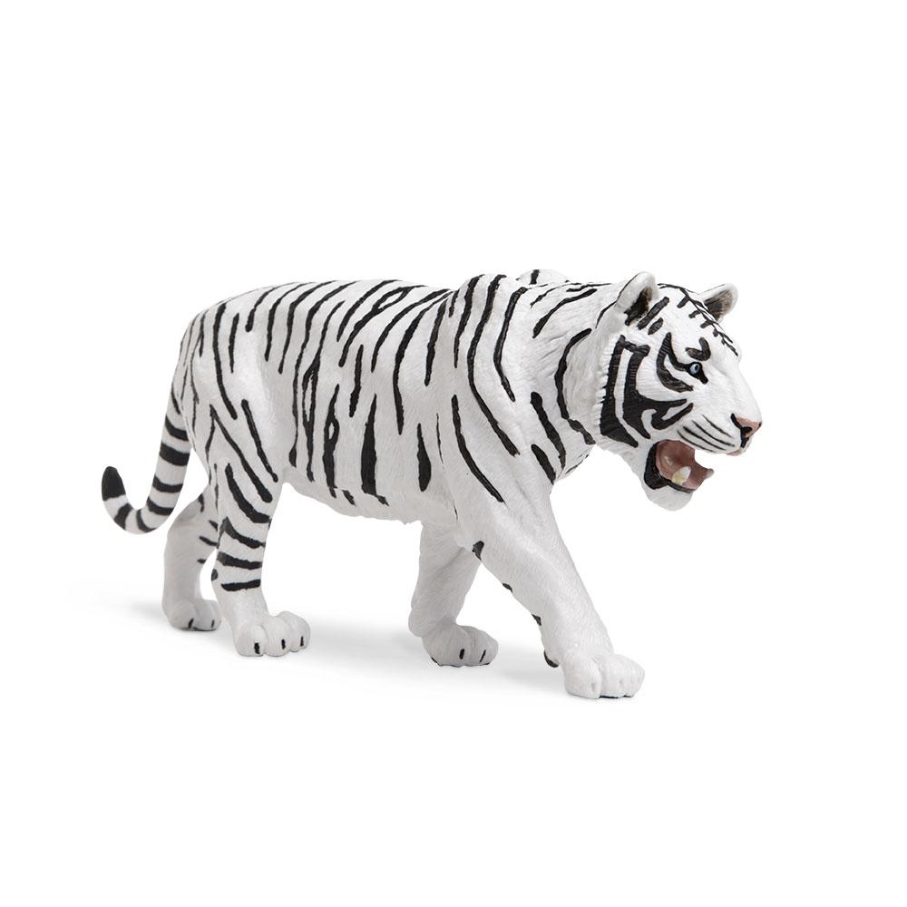 Wildlife Wonders White Siberian Tiger  Safari Ltd Animal Educational Toy Figure 2