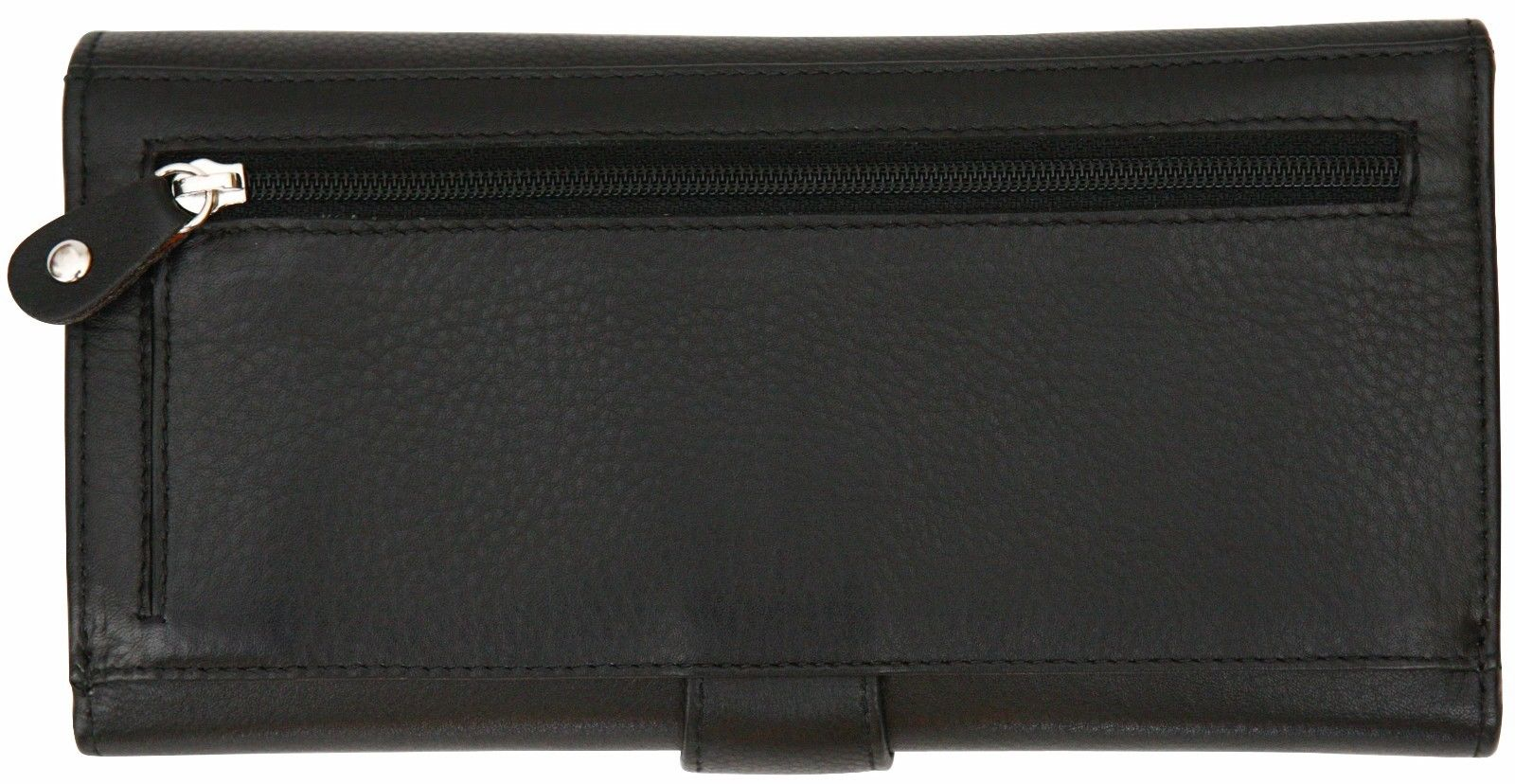 Felda-RFID-Ladies-Leather-Soft-Wallet-Large-Capacity-Purse-Womens-Multi-24-Card miniatuur 18