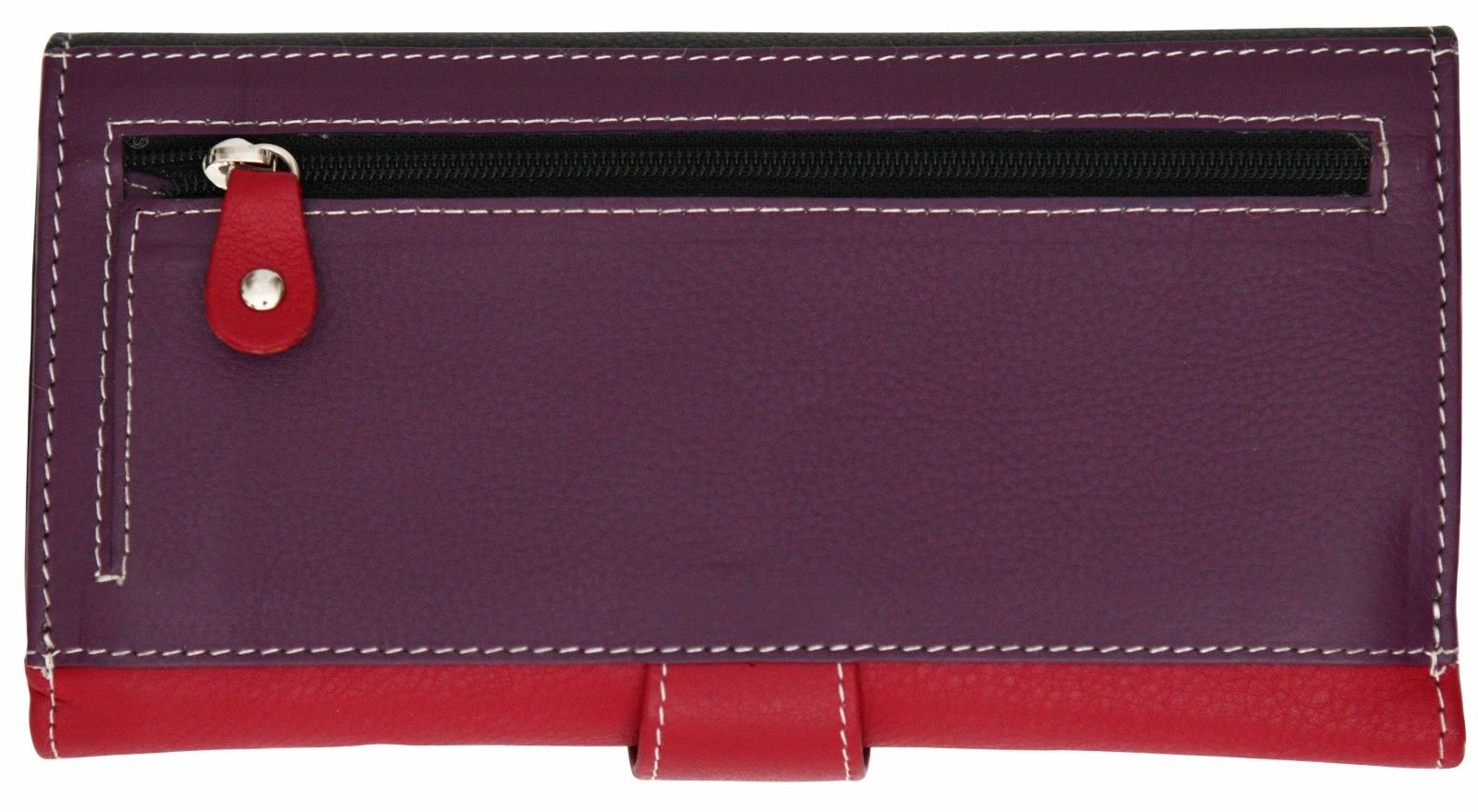 Felda-RFID-Ladies-Leather-Soft-Wallet-Large-Capacity-Purse-Womens-Multi-24-Card miniatuur 25