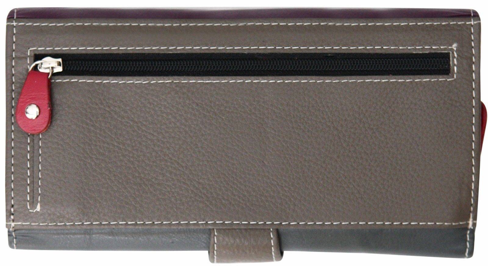 Felda-RFID-Ladies-Leather-Soft-Wallet-Large-Capacity-Purse-Womens-Multi-24-Card miniatuur 52