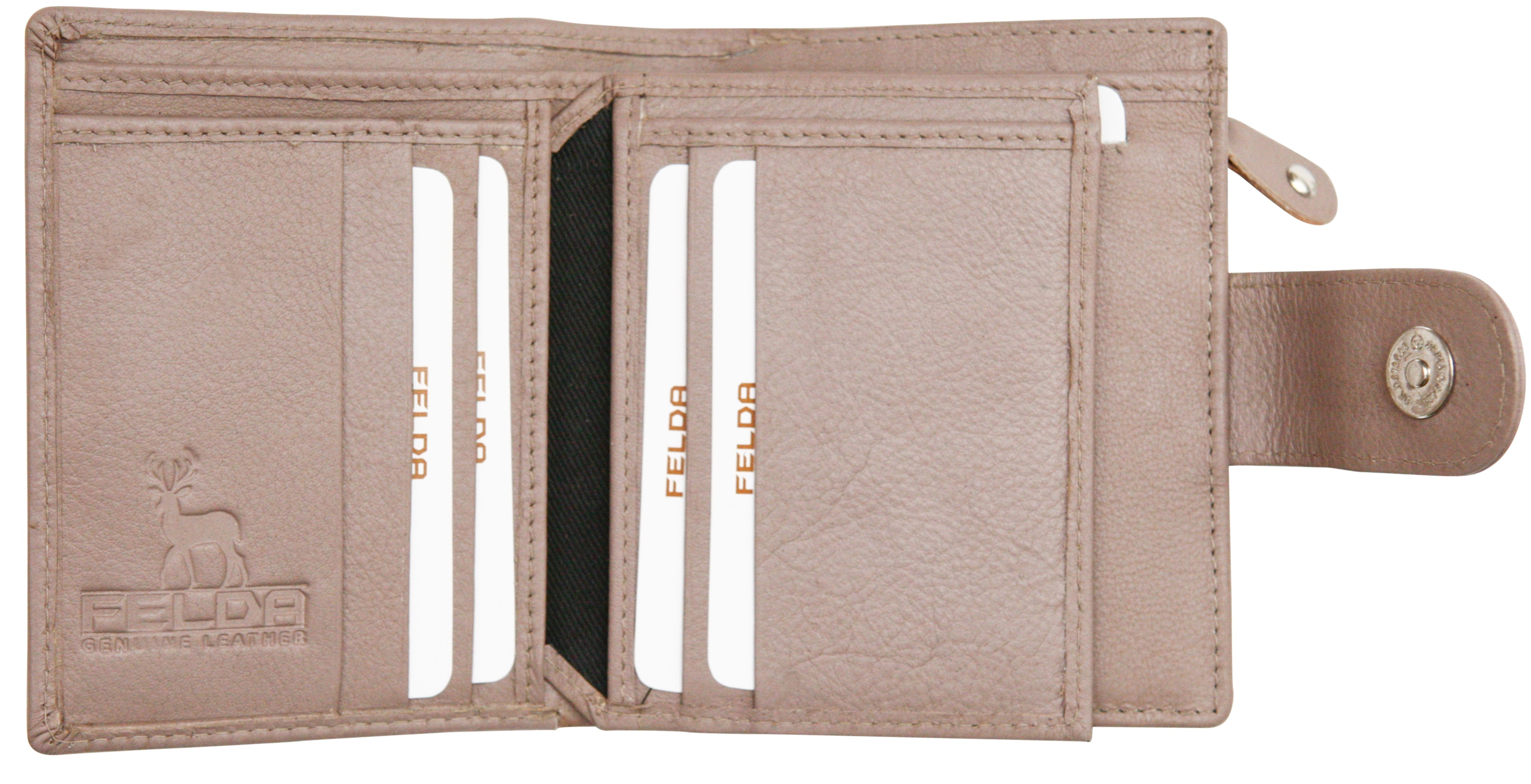 Felda-RFID-onorevoli-MEDAGLIA-amp-Card-Purse-Wallet-Genuine-Leather-Multi-SOFT-BOX-REGALO miniatura 78