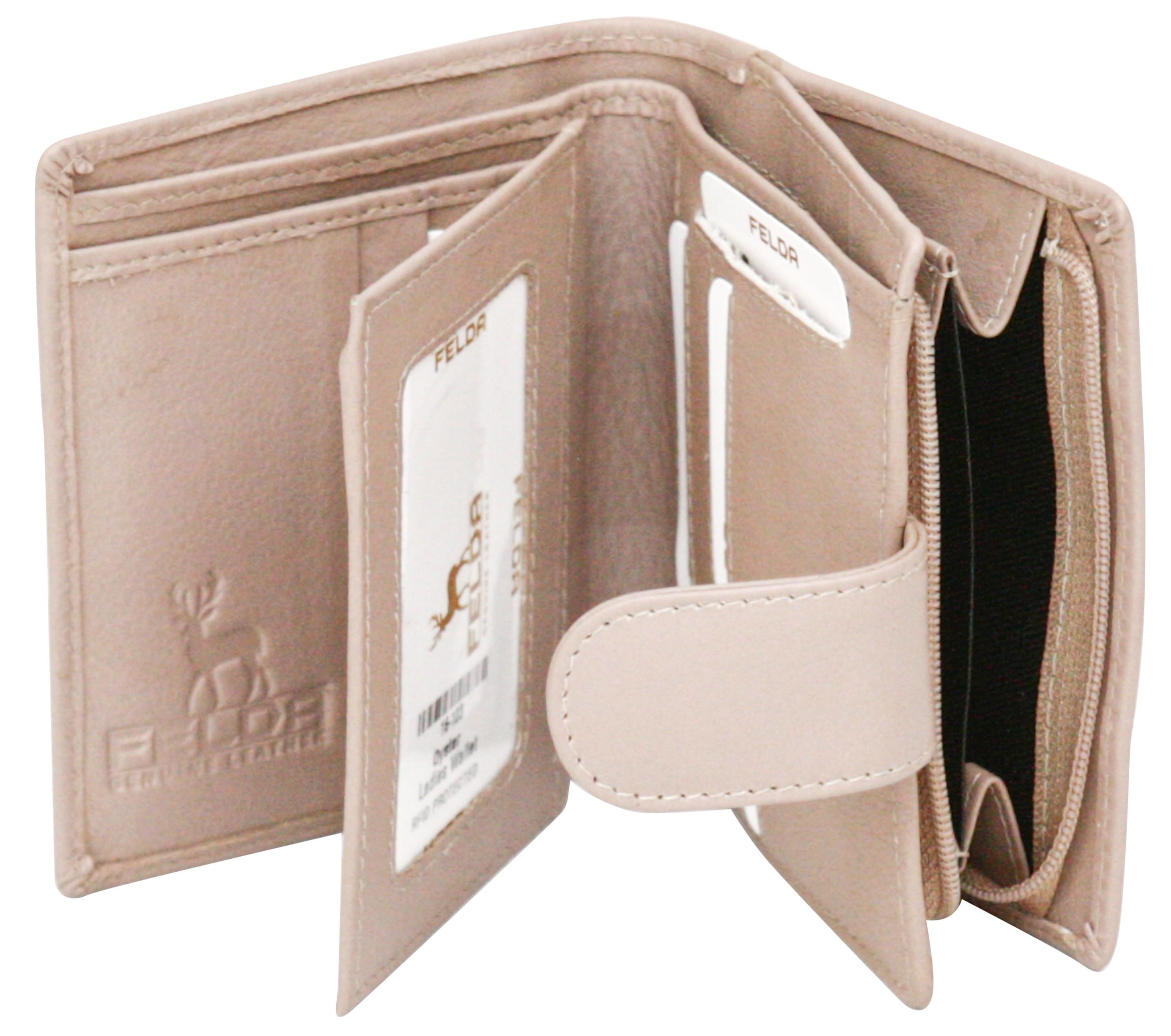 Felda-RFID-onorevoli-MEDAGLIA-amp-Card-Purse-Wallet-Genuine-Leather-Multi-SOFT-BOX-REGALO miniatura 76