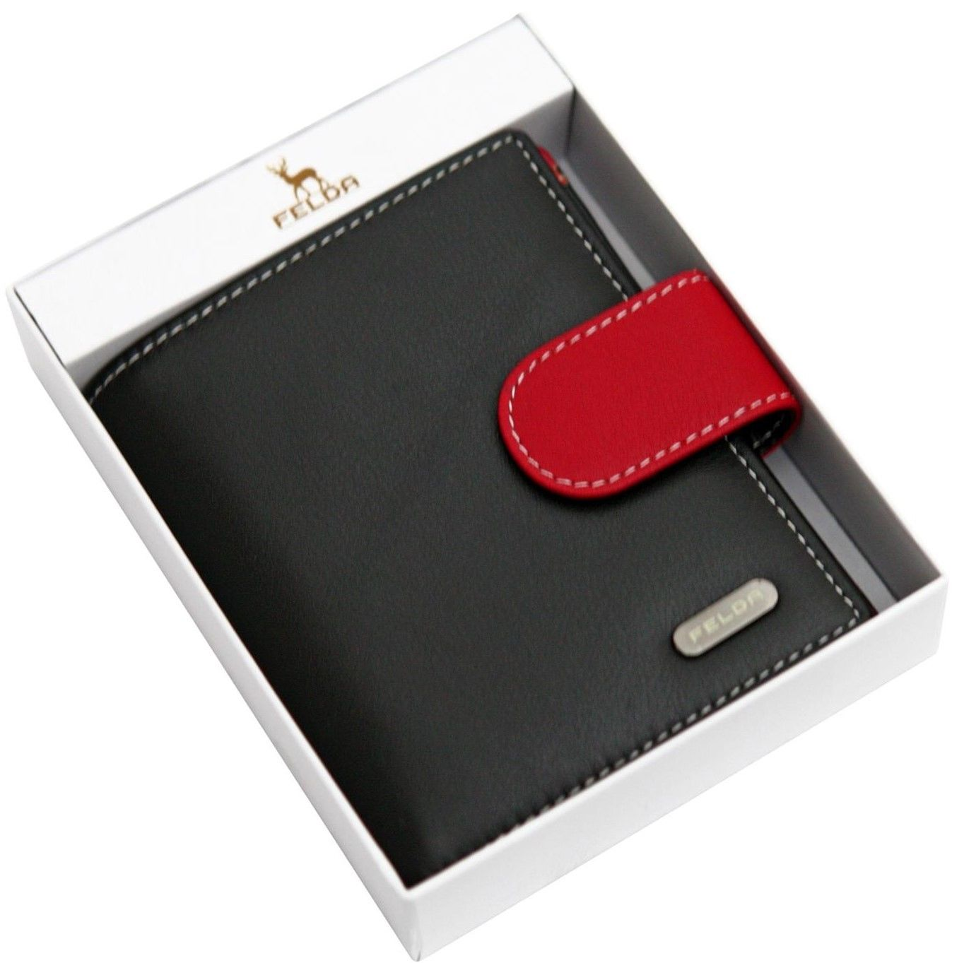 Felda-RFID-onorevoli-MEDAGLIA-amp-Card-Purse-Wallet-Genuine-Leather-Multi-SOFT-BOX-REGALO miniatura 17