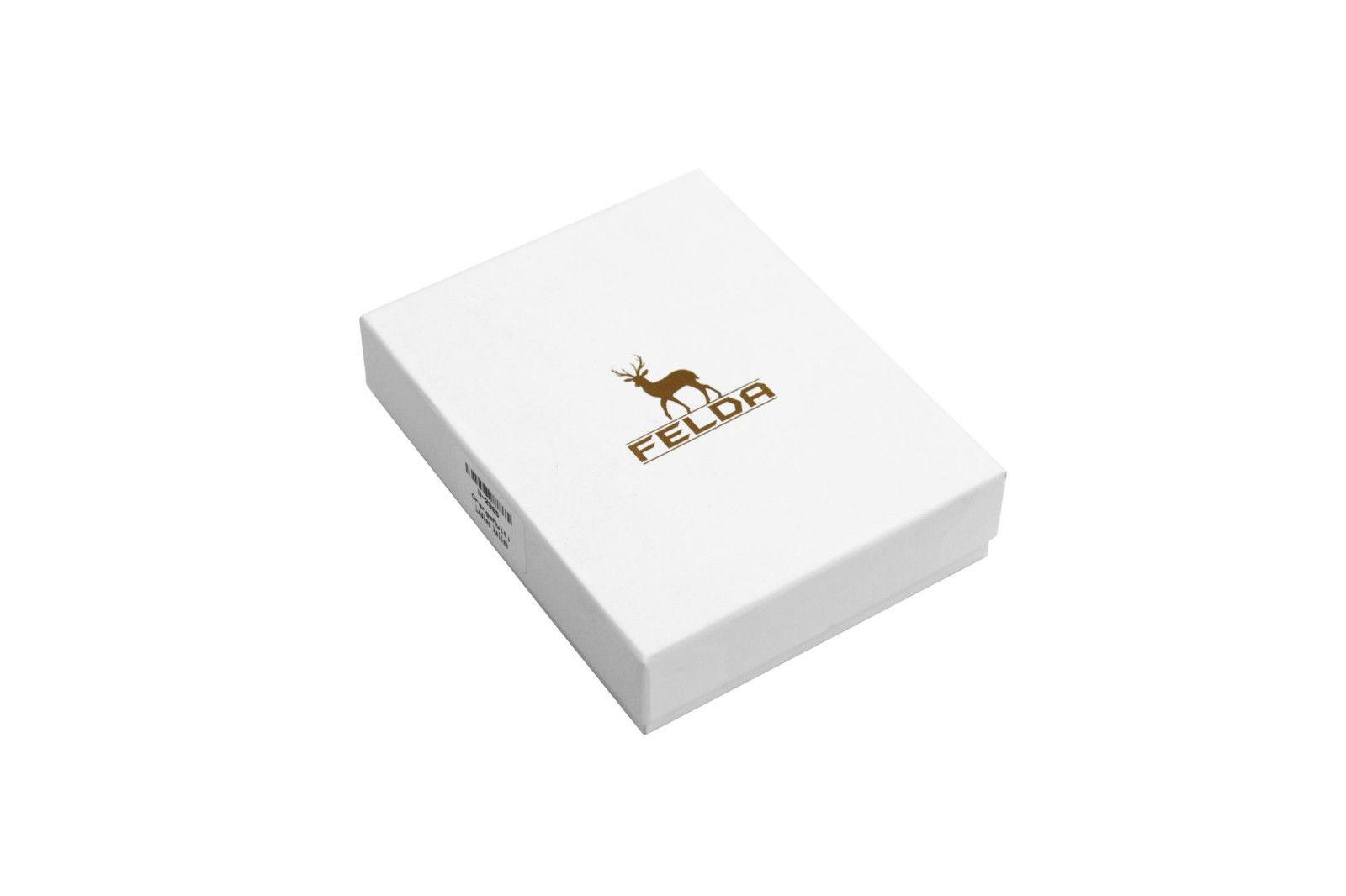 Felda-RFID-onorevoli-MEDAGLIA-amp-Card-Purse-Wallet-Genuine-Leather-Multi-SOFT-BOX-REGALO miniatura 21