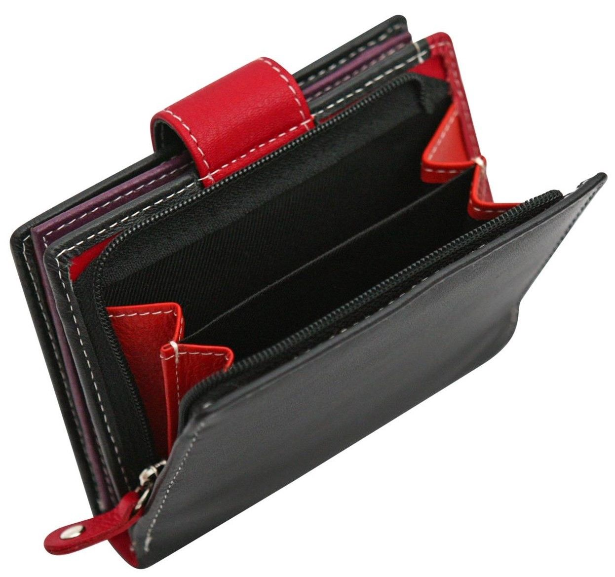 Felda-RFID-onorevoli-MEDAGLIA-amp-Card-Purse-Wallet-Genuine-Leather-Multi-SOFT-BOX-REGALO miniatura 18