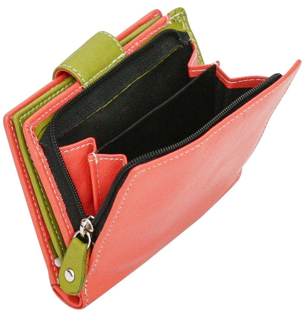 Felda-RFID-onorevoli-MEDAGLIA-amp-Card-Purse-Wallet-Genuine-Leather-Multi-SOFT-BOX-REGALO miniatura 28
