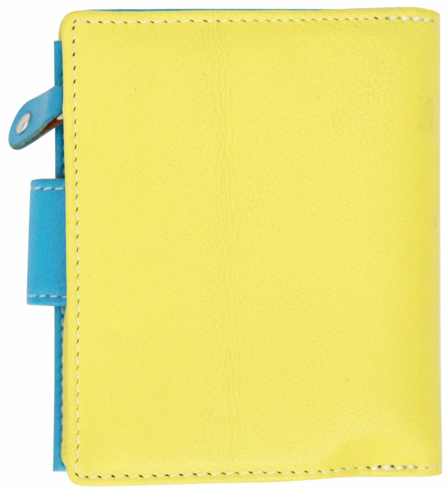Felda-RFID-onorevoli-MEDAGLIA-amp-Card-Purse-Wallet-Genuine-Leather-Multi-SOFT-BOX-REGALO miniatura 35