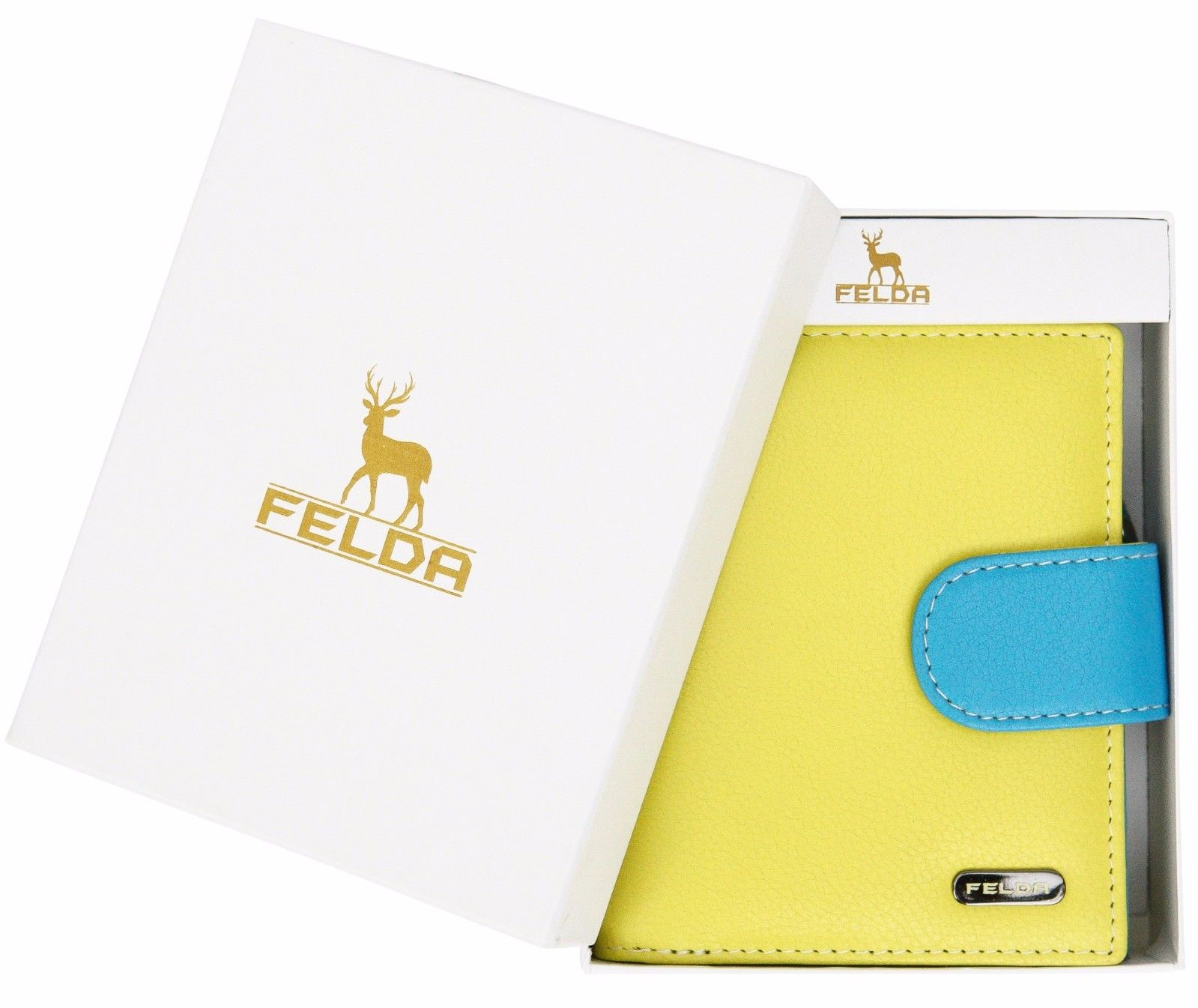 Felda-RFID-onorevoli-MEDAGLIA-amp-Card-Purse-Wallet-Genuine-Leather-Multi-SOFT-BOX-REGALO miniatura 31