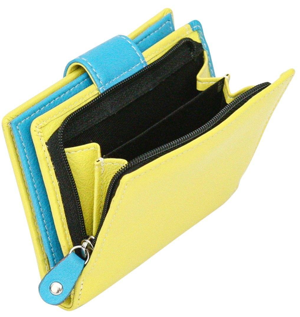 Felda-RFID-onorevoli-MEDAGLIA-amp-Card-Purse-Wallet-Genuine-Leather-Multi-SOFT-BOX-REGALO miniatura 34