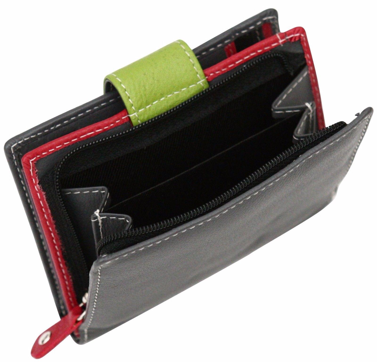 Felda-RFID-onorevoli-MEDAGLIA-amp-Card-Purse-Wallet-Genuine-Leather-Multi-SOFT-BOX-REGALO miniatura 41