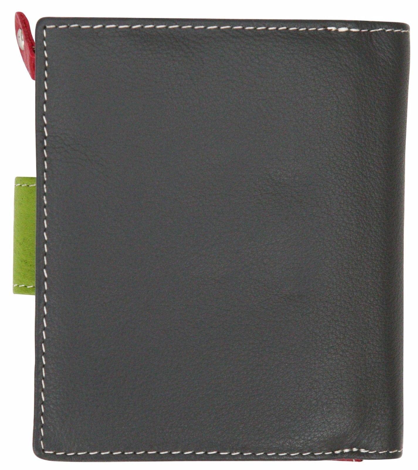 Felda-RFID-onorevoli-MEDAGLIA-amp-Card-Purse-Wallet-Genuine-Leather-Multi-SOFT-BOX-REGALO miniatura 38