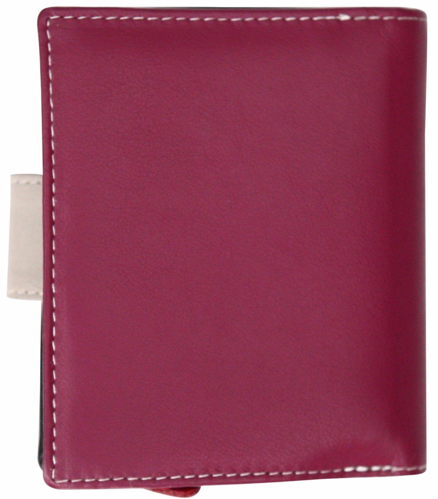 Felda-RFID-onorevoli-MEDAGLIA-amp-Card-Purse-Wallet-Genuine-Leather-Multi-SOFT-BOX-REGALO miniatura 47