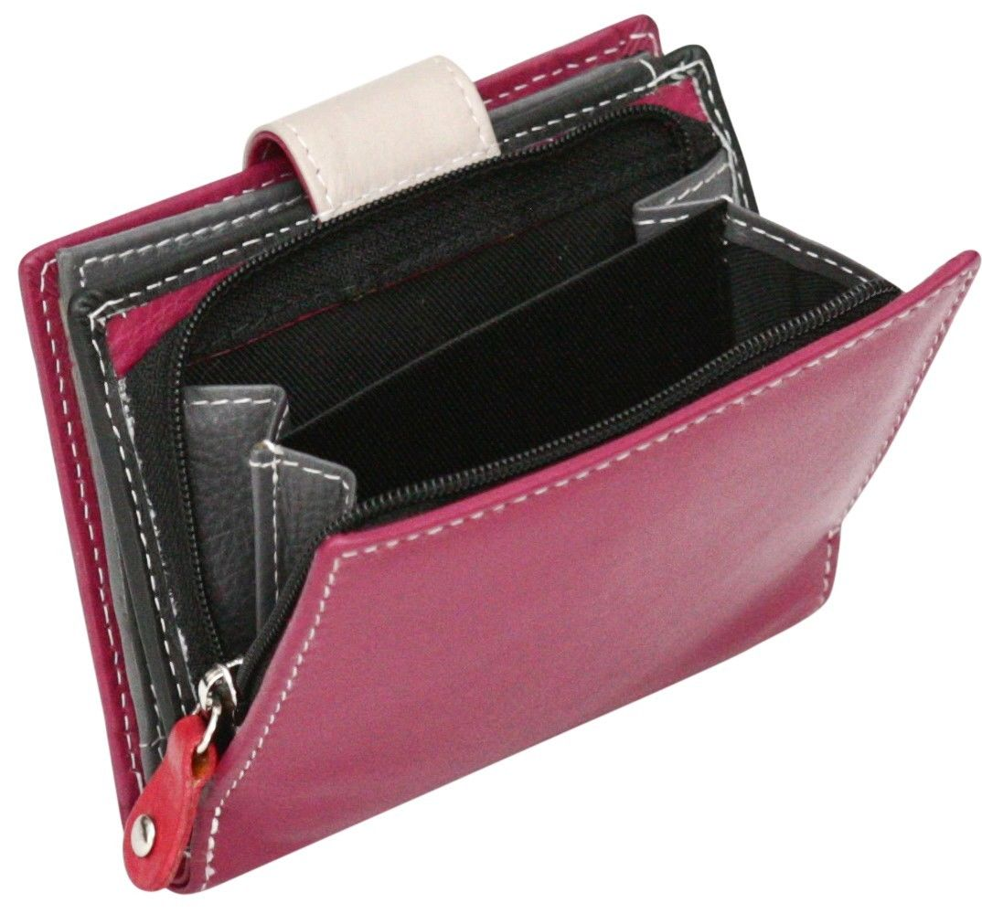 Felda-RFID-onorevoli-MEDAGLIA-amp-Card-Purse-Wallet-Genuine-Leather-Multi-SOFT-BOX-REGALO miniatura 44