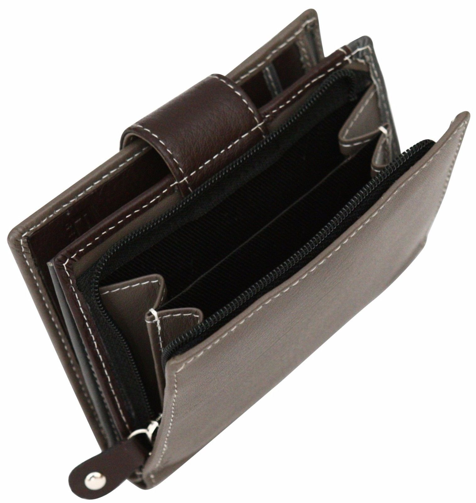 Felda-RFID-onorevoli-MEDAGLIA-amp-Card-Purse-Wallet-Genuine-Leather-Multi-SOFT-BOX-REGALO miniatura 59