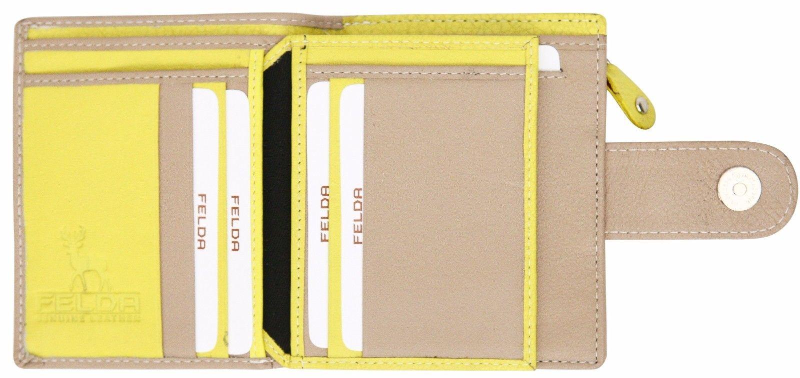 Felda-RFID-onorevoli-MEDAGLIA-amp-Card-Purse-Wallet-Genuine-Leather-Multi-SOFT-BOX-REGALO miniatura 62