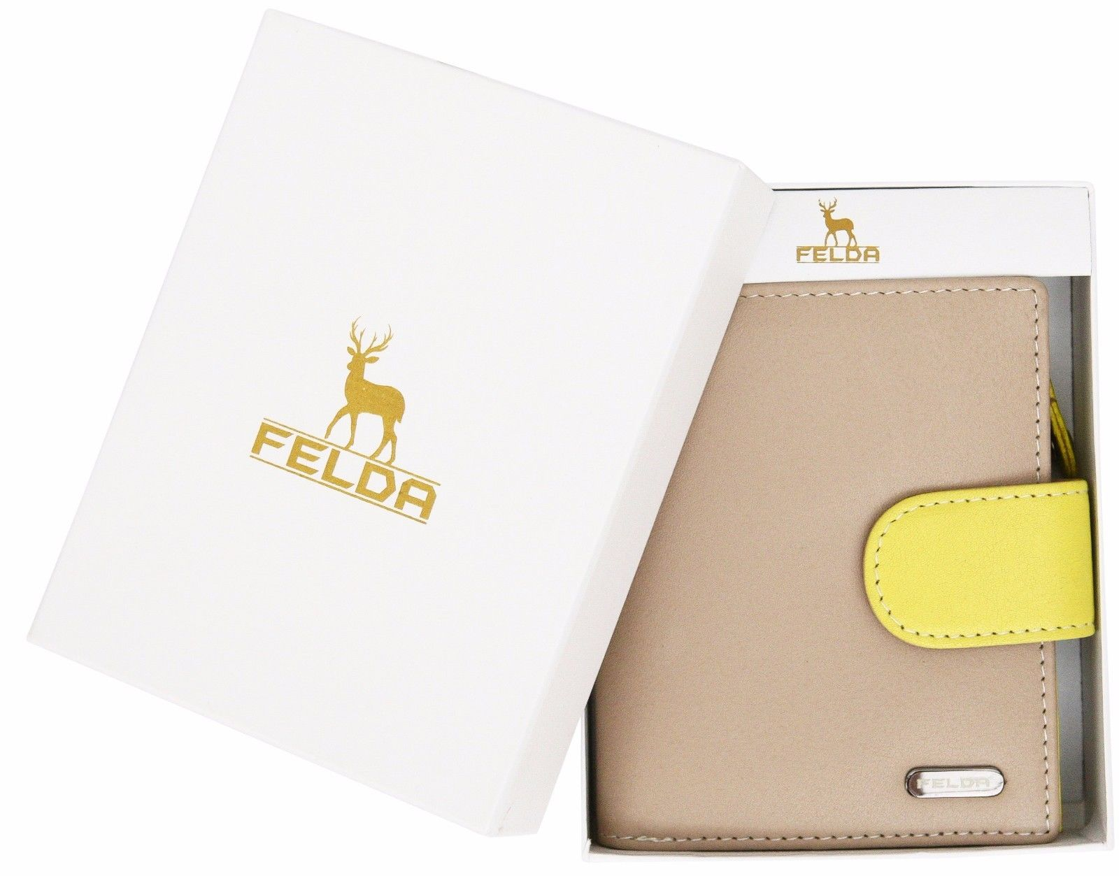Felda-RFID-onorevoli-MEDAGLIA-amp-Card-Purse-Wallet-Genuine-Leather-Multi-SOFT-BOX-REGALO miniatura 61