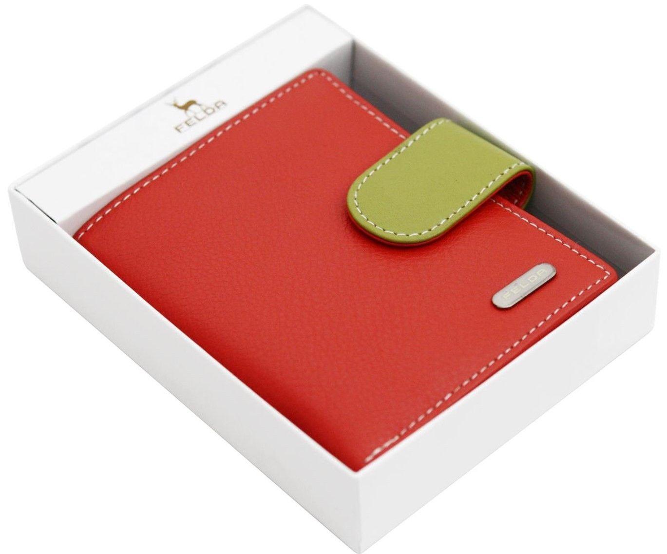 Felda-RFID-onorevoli-MEDAGLIA-amp-Card-Purse-Wallet-Genuine-Leather-Multi-SOFT-BOX-REGALO miniatura 72