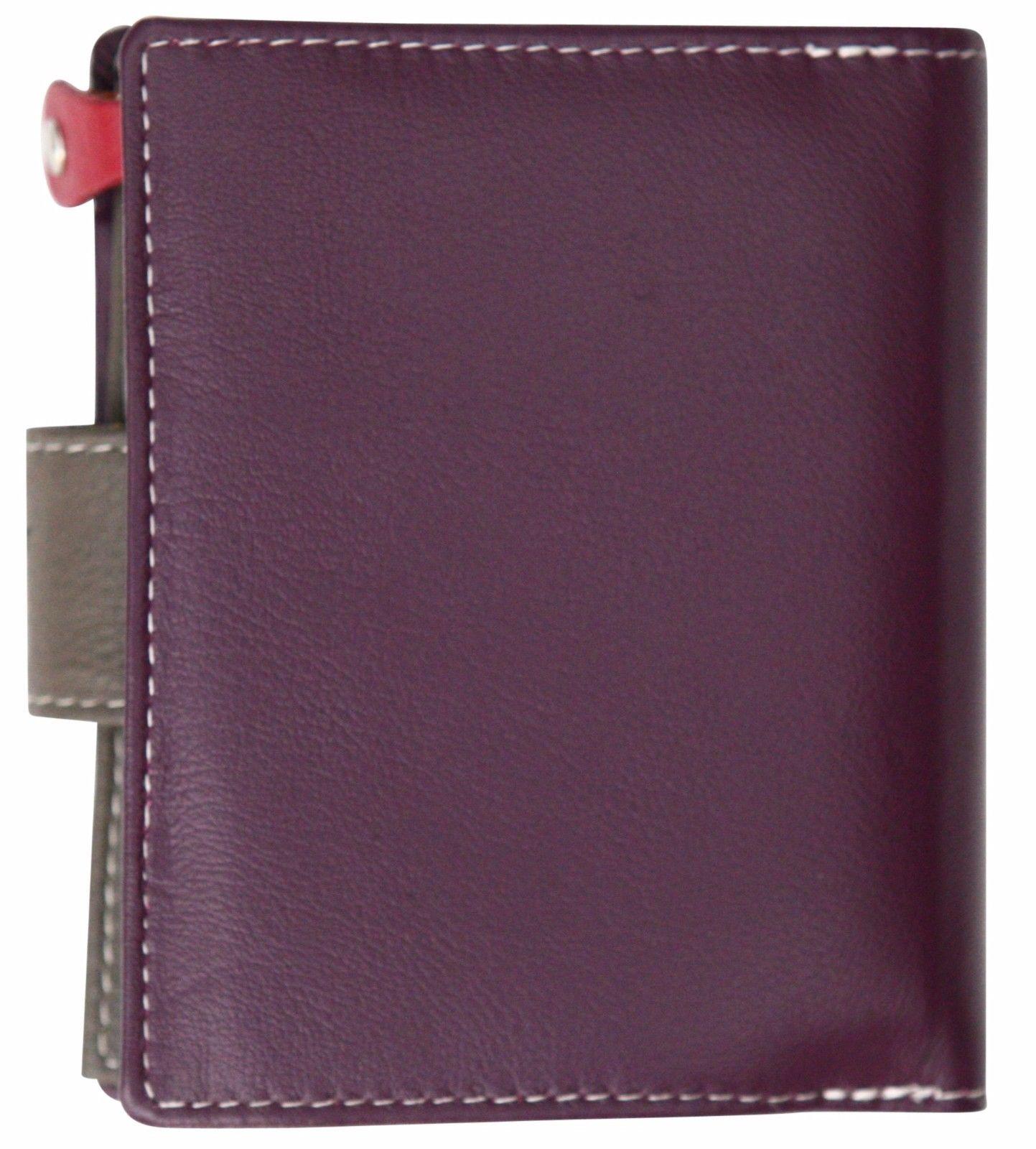 Felda-RFID-onorevoli-MEDAGLIA-amp-Card-Purse-Wallet-Genuine-Leather-Multi-SOFT-BOX-REGALO miniatura 97