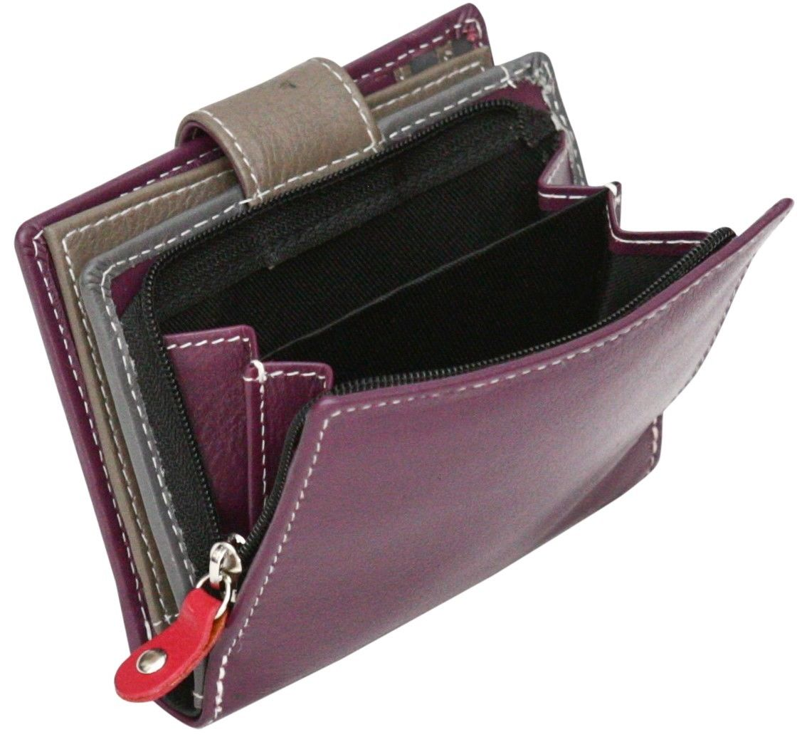 Felda-RFID-onorevoli-MEDAGLIA-amp-Card-Purse-Wallet-Genuine-Leather-Multi-SOFT-BOX-REGALO miniatura 94