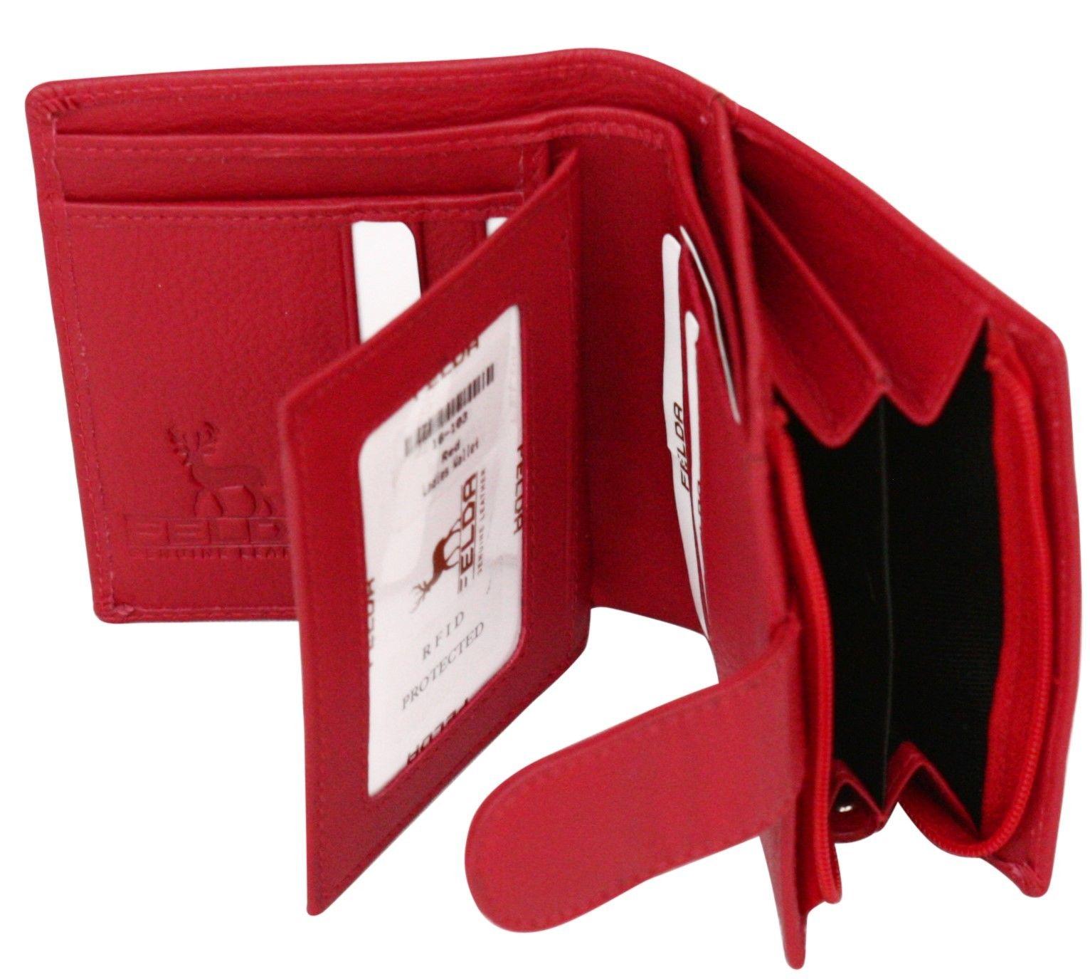 Felda-RFID-onorevoli-MEDAGLIA-amp-Card-Purse-Wallet-Genuine-Leather-Multi-SOFT-BOX-REGALO miniatura 103