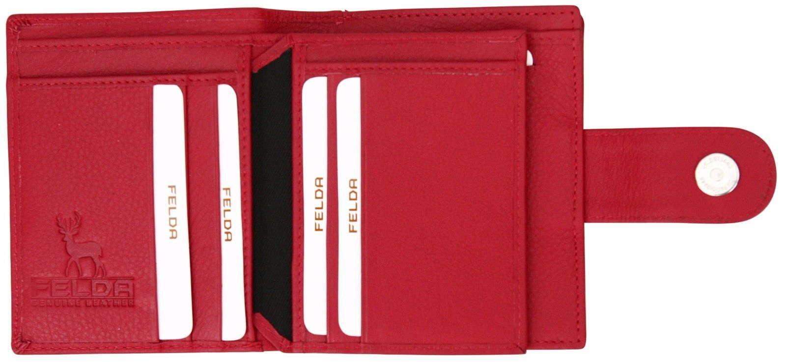 Felda-RFID-onorevoli-MEDAGLIA-amp-Card-Purse-Wallet-Genuine-Leather-Multi-SOFT-BOX-REGALO miniatura 101