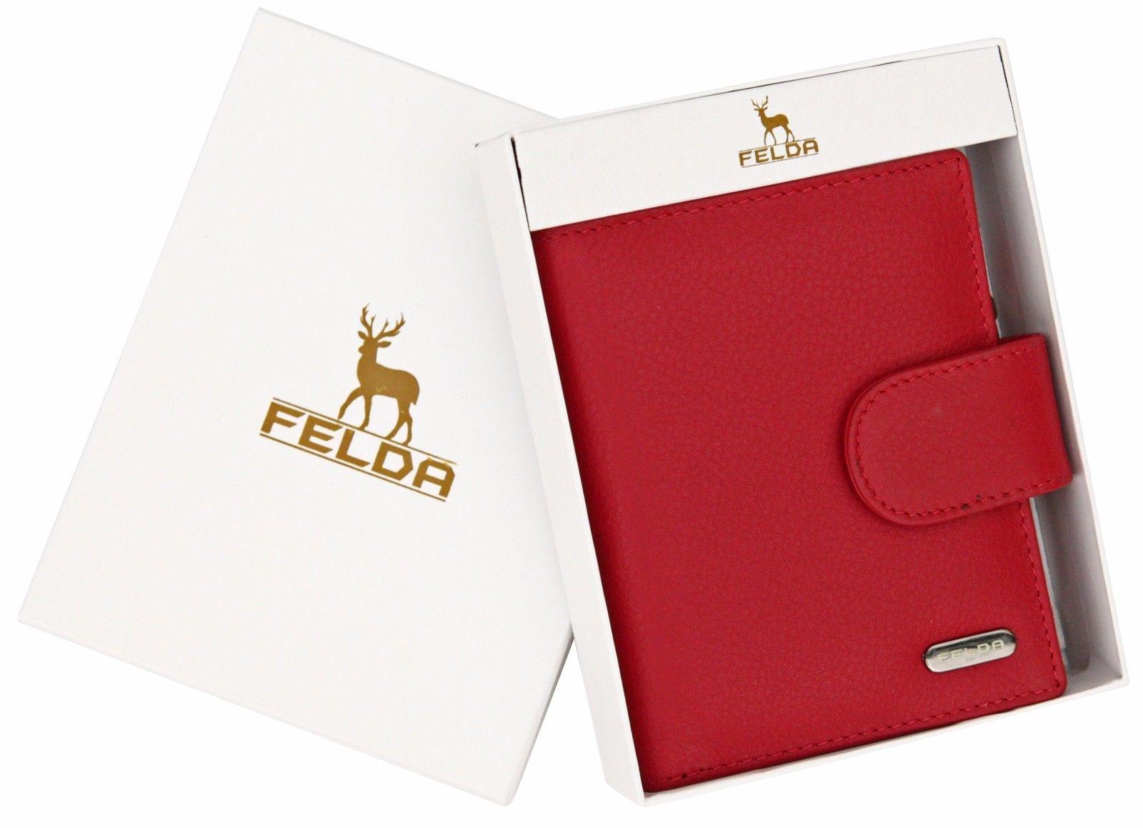 Felda-RFID-onorevoli-MEDAGLIA-amp-Card-Purse-Wallet-Genuine-Leather-Multi-SOFT-BOX-REGALO miniatura 99