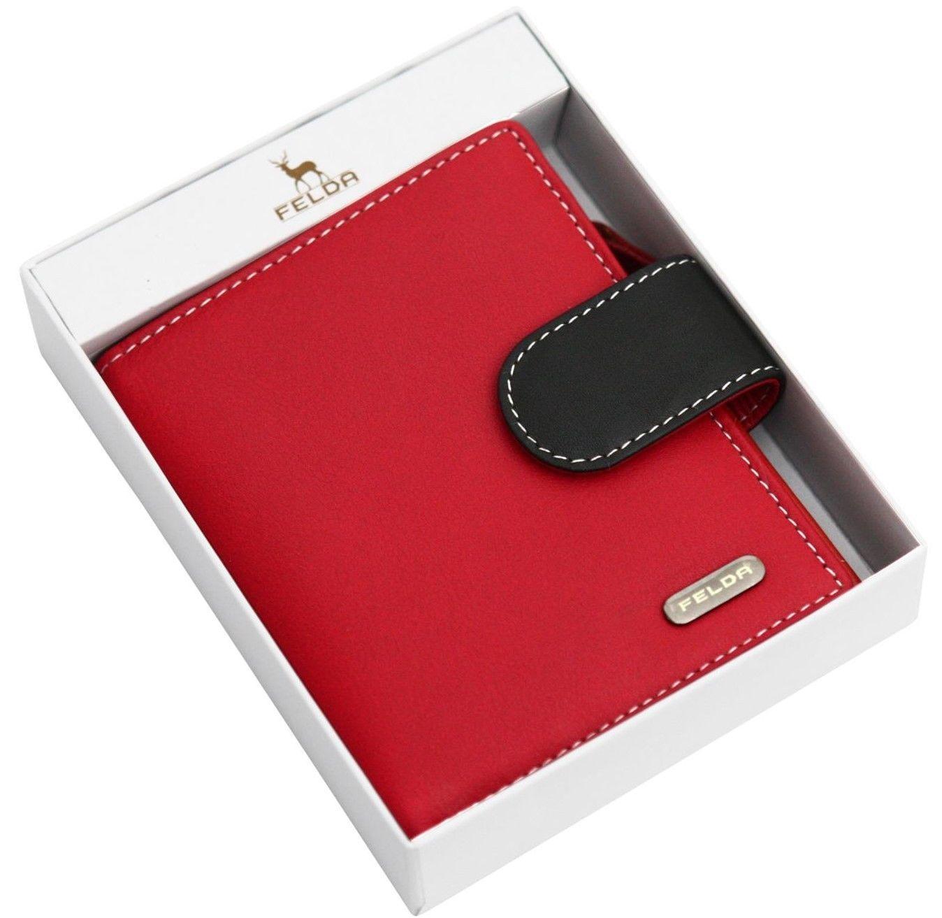 Felda-RFID-onorevoli-MEDAGLIA-amp-Card-Purse-Wallet-Genuine-Leather-Multi-SOFT-BOX-REGALO miniatura 108