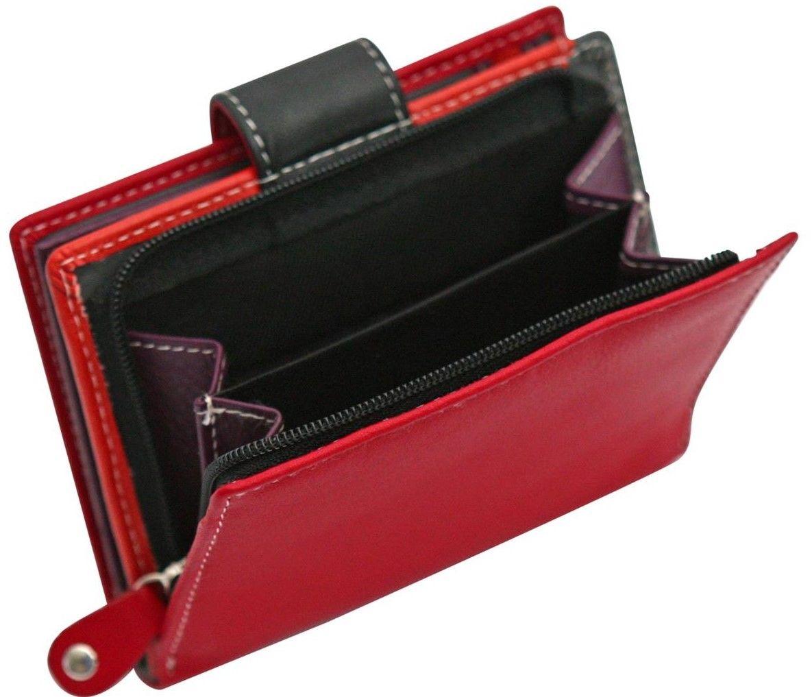 Felda-RFID-onorevoli-MEDAGLIA-amp-Card-Purse-Wallet-Genuine-Leather-Multi-SOFT-BOX-REGALO miniatura 105